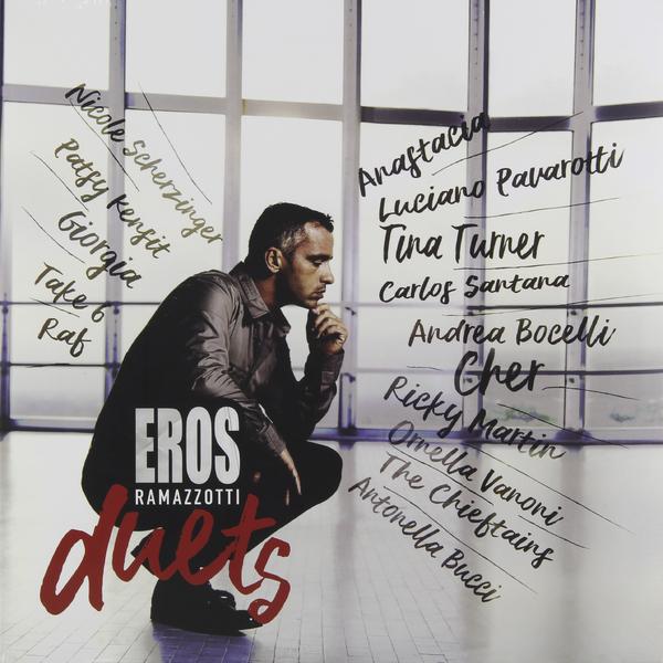 Eros Ramazzotti Eros Ramazzotti - Eros Duets (2 LP) cd eros ramazzotti eros 30