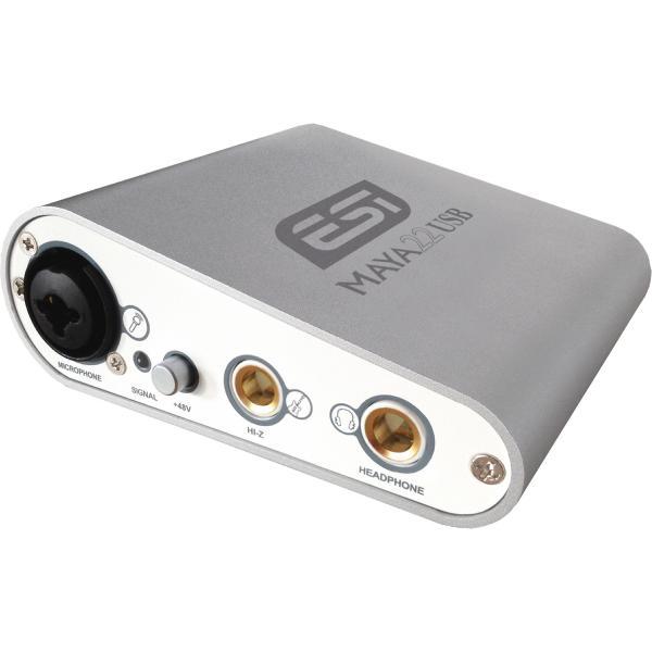 Внешняя студийная звуковая карта ESI MAYA22 USB
