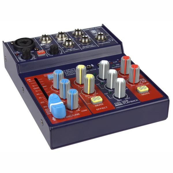 Аналоговый микшерный пульт Eurosound Compact-4USB микшерный пульт с усилением eurosound force 820usb