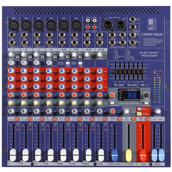 Купить со скидкой Аналоговый микшерный пульт Eurosound