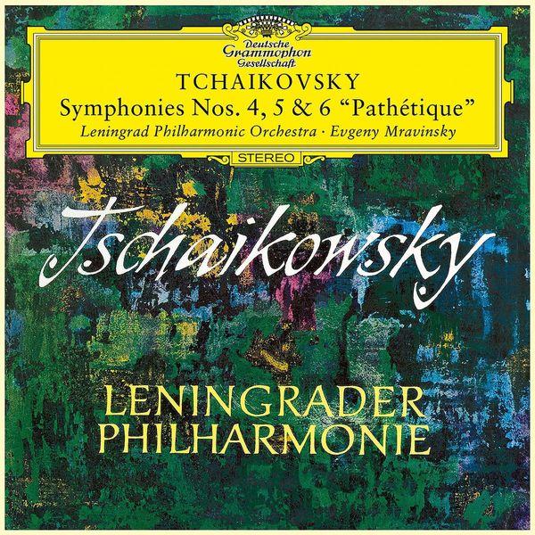 Tchaikovsky TchaikovskyEvgeny Mravinsky - : Symphonies Nos.4, 5 6 (3 LP) c f abel 6 symphonies op 7