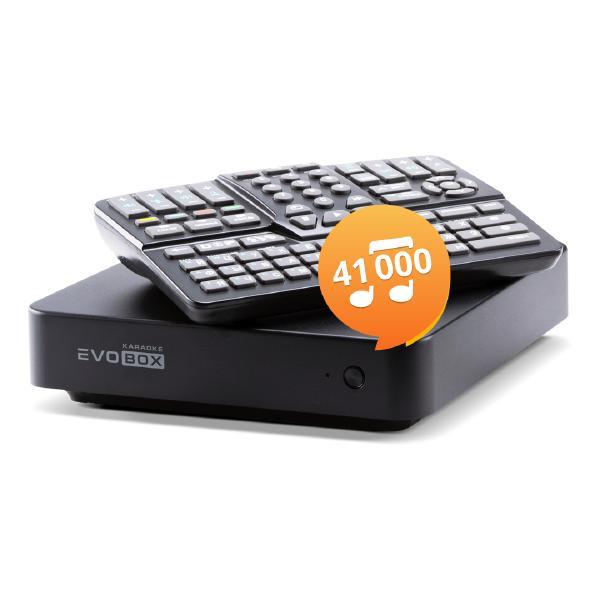 Караоке-система Evolution EVOBOX Plus Black