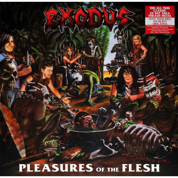 Exodus Exodus - Pleasures Of The Flesh (180 Gr) guano apes guano apes proud like a god 180 gr colour