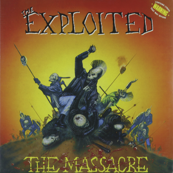 Exploited Exploited - The Massacre (2 LP) massacre la plata