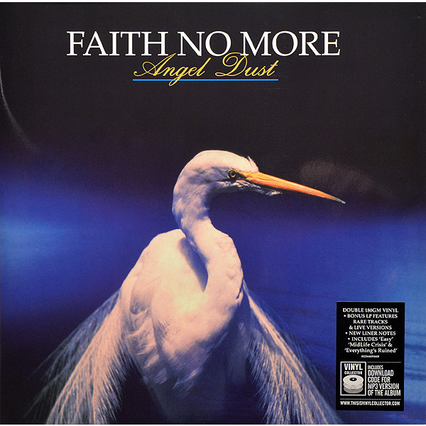 Faith No More Faith No More - Angel Dust (2 Lp, 180 Gr) faith no more angel dusto 2cd cd