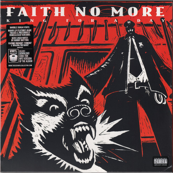 Faith No More Faith No More - King For A Day…fool For A Lifetime (2 Lp, 180 Gr) engineering plastic holder stand for cell phone tablet pc more orange