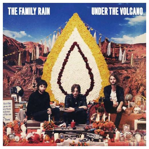 Family Rain Family Rain - Under The Volcano clouds without rain