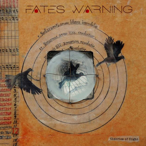 Fates Warning Fates Warning - Theories Of Flight (2 Lp + Cd) map of fates
