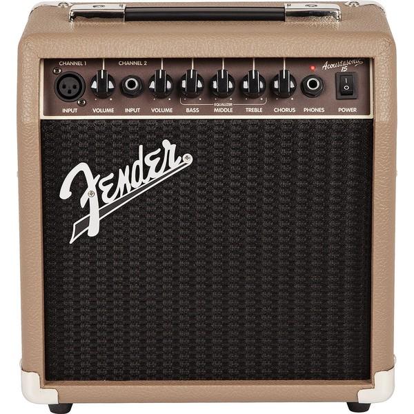 Гитарный комбоусилитель Fender ACOUSTASONIC 15 COMBO гитарный комбоусилитель markbass acoustic 601