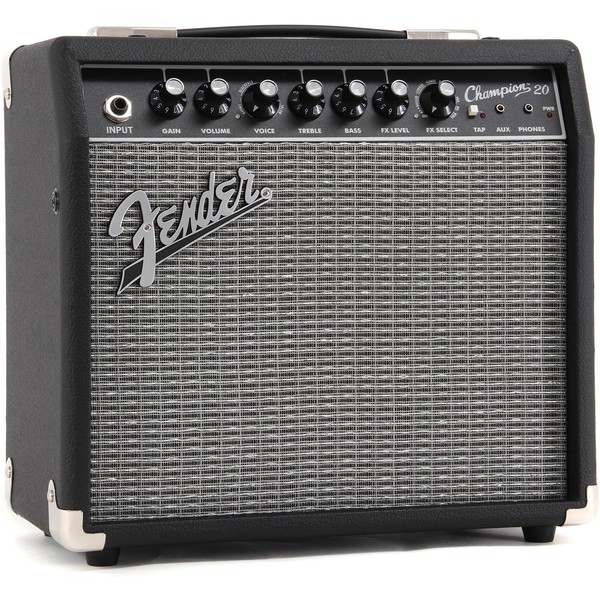Гитарный комбоусилитель Fender CHAMPION 20 гитарный комбоусилитель roland blues cube stage