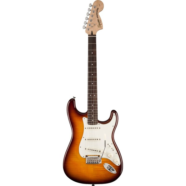 Электрогитара Fender Squier Standard Stratocaster FMT RW fender squier jim root telecaster flat white