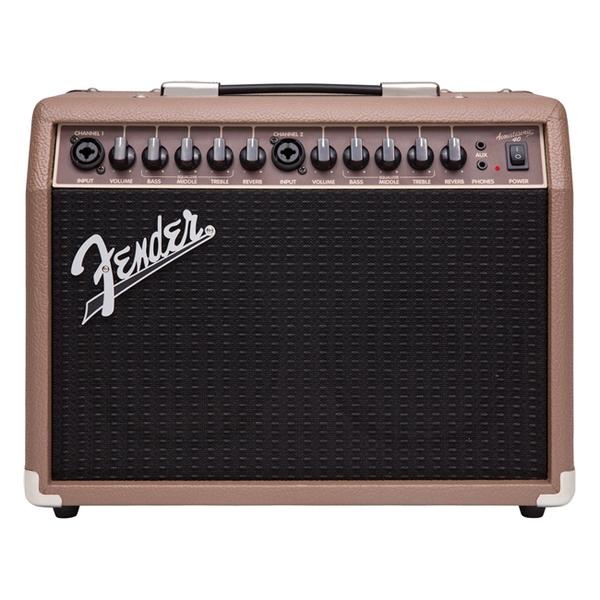 Гитарный комбоусилитель Fender ACOUSTASONIC 40 басовый комбоусилитель fender rumble stage 800 230v eu