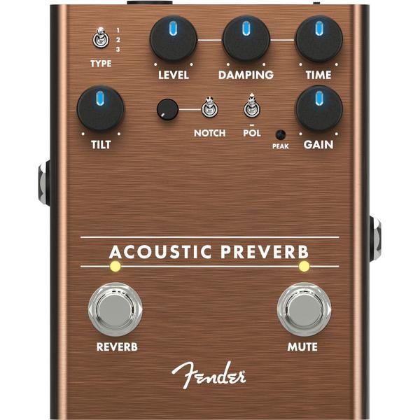 Педаль эффектов Fender Acoustic Preamp Reverb