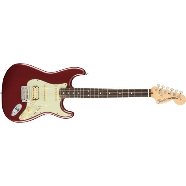 Электрогитара Fender American Performer Stratocaster HSS RW Aubergine