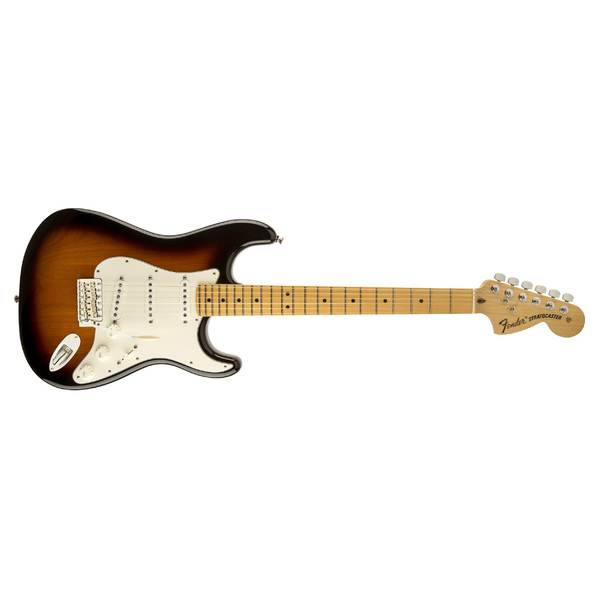 Электрогитара Fender American Special Stratocaster Maple Fingerboard 2-Color Sunburst fender fender squier contemporary telecaster hh maple fingerboard dark metallic red