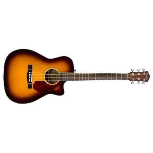 Гитара электроакустическая Fender CC-140SCE Sunburst WC fender fender american original 50s precision bass® maple fingerboard 2 color sunburst