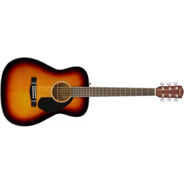 Акустическая гитара Fender CC-60S Concert WN 3-Color Sunburst