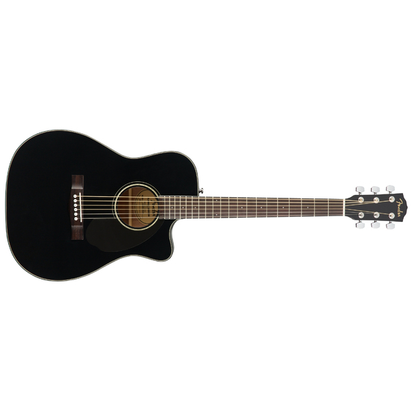 Гитара электроакустическая Fender CC-60SCE Black