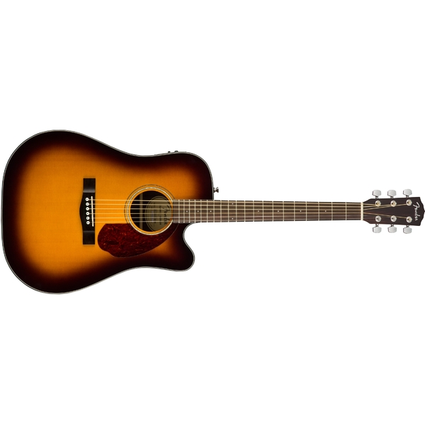 Гитара электроакустическая Fender CD-140SCE WC Sunburst akg k 328 sunburst red