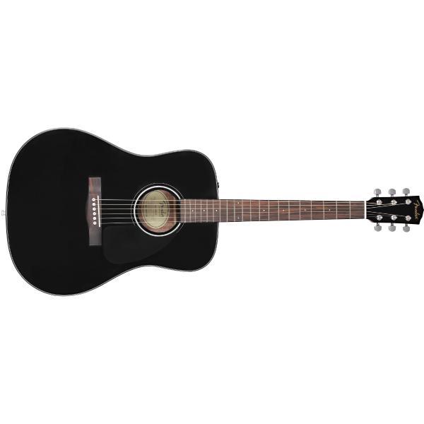 Акустическая гитара Fender CD-60 Dread V3 DS Black