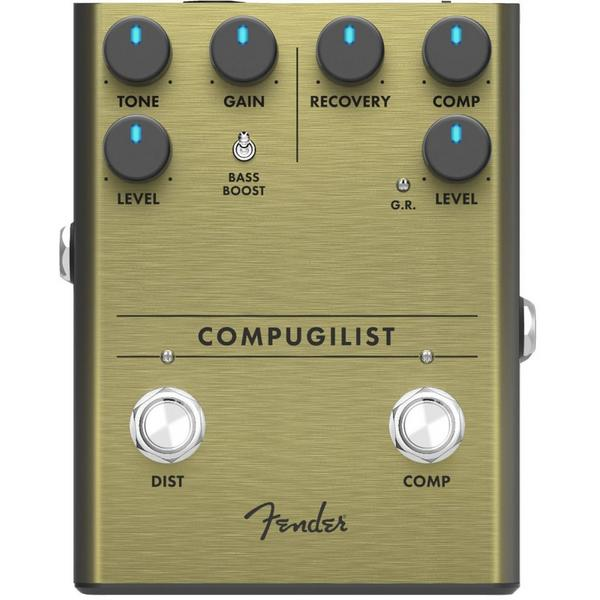 Педаль эффектов Fender Compugilist Compressor/Distortion