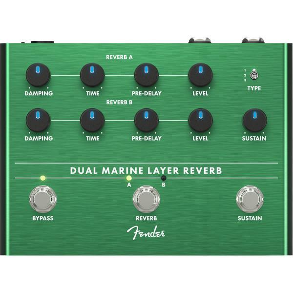 Педаль эффектов Fender Dual Marine Layer Reverb