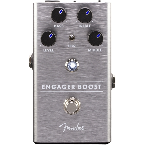 Педаль эффектов Fender Engager Boost Pedal mooer flex boost electric guitar effects pedal true bypass