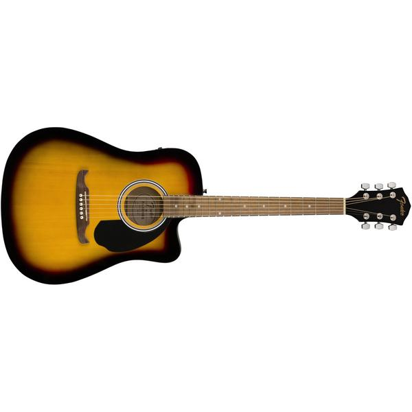 Гитара электроакустическая Fender FA-125CE WN Sunburst