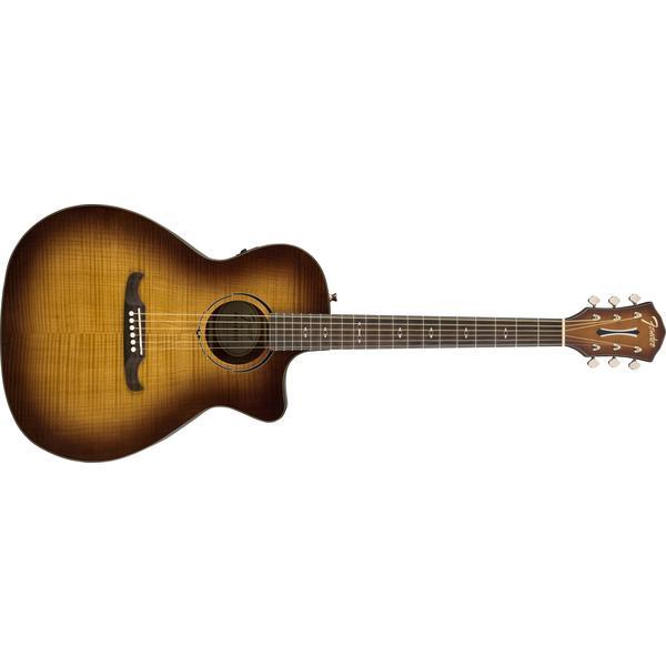 Гитара электроакустическая Fender FA-345CE Auditorium LR 3-Tone Tea Burst