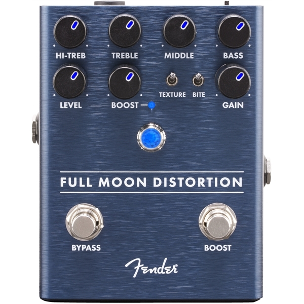 Педаль эффектов Fender Full Moon Distortion Pedal nux metal core distortion guitar pedal true bypass guitar effects pedal built in noise gate 2 band eq tone lock function