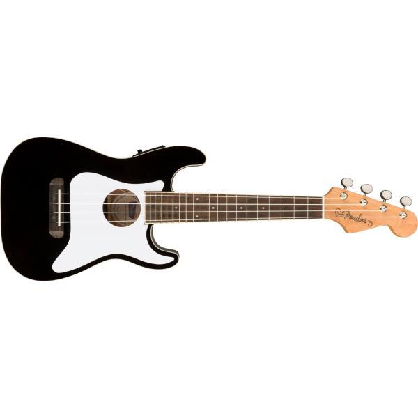 Укулеле Fender Fullerton Strat Uke Black