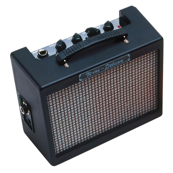 Гитарный мини-усилитель Fender Гитарный мини-комбоусилитель MD20 MINI DELUXE цена и фото