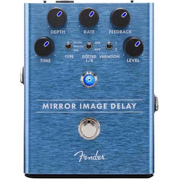 Педаль эффектов Fender Mirror Image Delay Pedal педаль эффектов fender the pelt fuzz pedal
