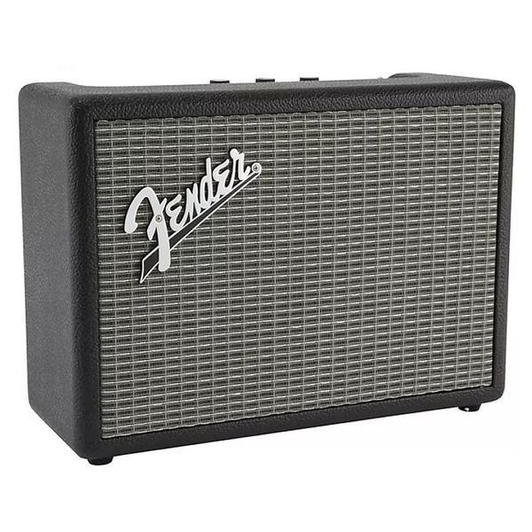 Портативная колонка Fender Monterey Bluetooth Speaker Black/Silver s32 portable 3w bluetooth v2 0 speaker w mic mini usb tf brown black