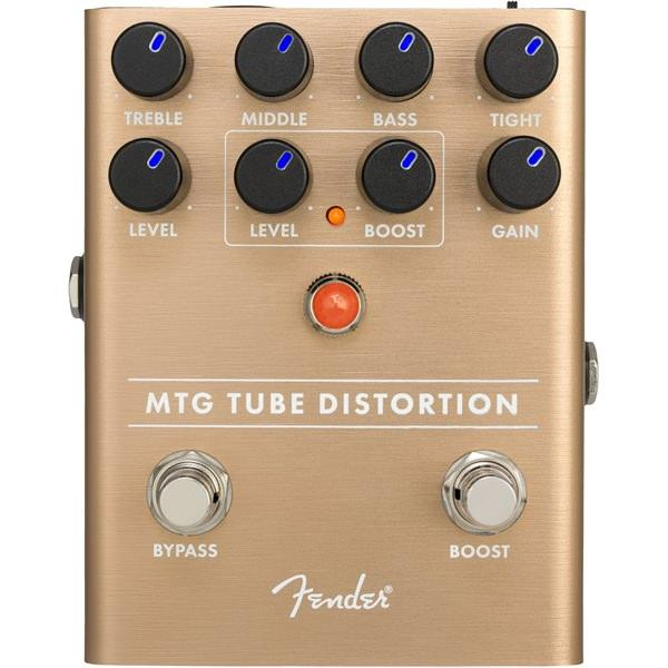 Педаль эффектов Fender MTG Tube Distortion