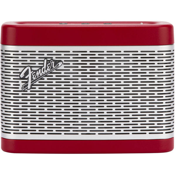 Портативная колонка Fender Newport Bluetooth Speaker Red 110db loud security alarm siren horn speaker buzzer black red dc 6 16v