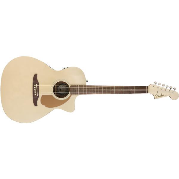 Гитара электроакустическая Fender Newporter Player Champagne