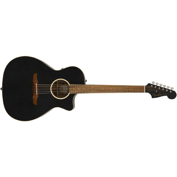 Гитара электроакустическая Fender Newporter Special Matte Black