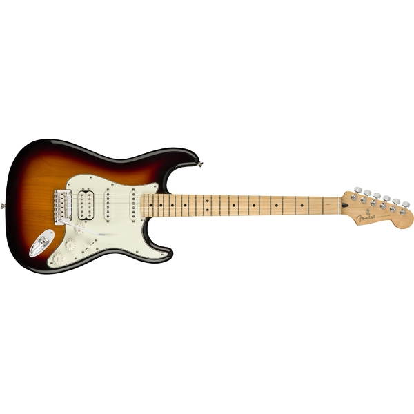 Электрогитара Fender Player Stratocaster HSS MN 3-Color Sunburst fender fender american original 50s stratocaster® maple fingerboard 2 color sunburst