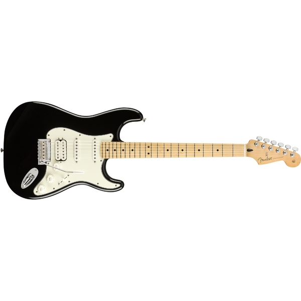 Электрогитара Fender Player Stratocaster HSS MN Black