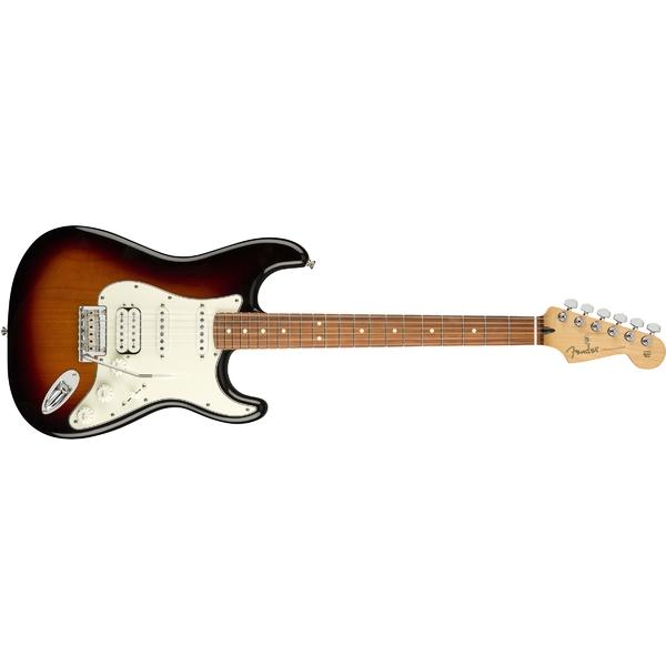 Электрогитара Fender Player Stratocaster HSS PF 3-Color Sunburst fender fender american original 50s stratocaster® maple fingerboard 2 color sunburst