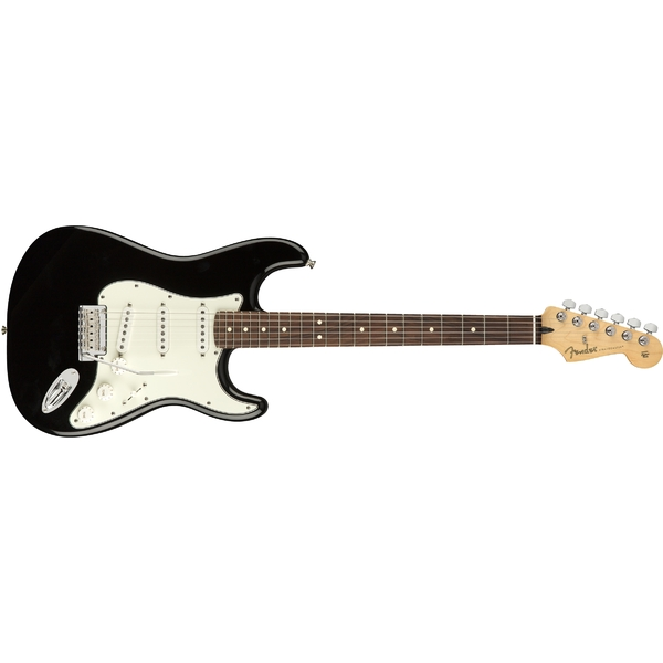 Электрогитара Fender Player Stratocaster PF Black