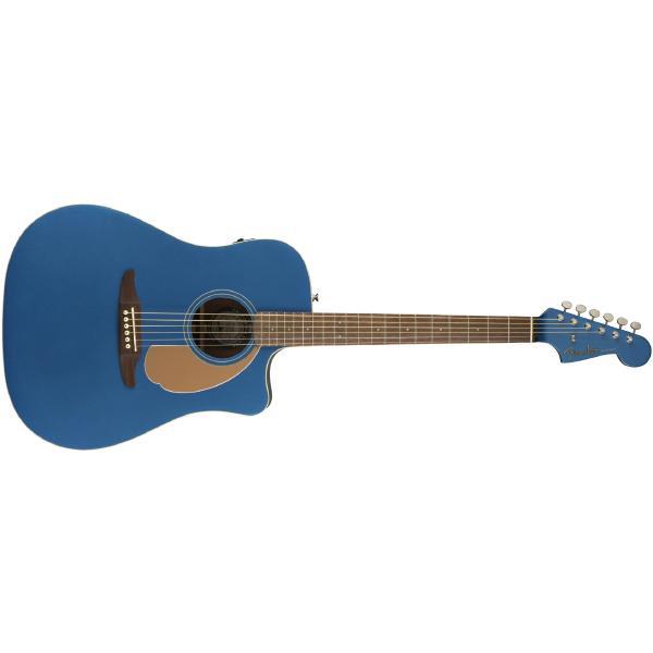 Гитара электроакустическая Fender Redondo Player Belmont Blue