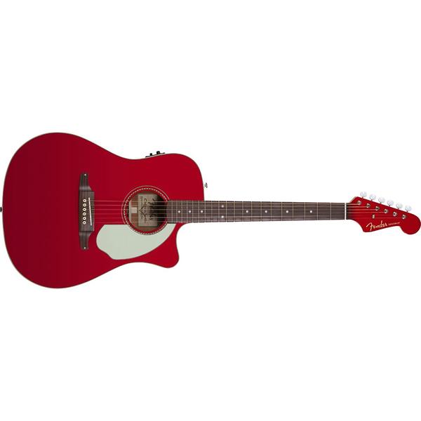 Гитара электроакустическая Fender Sonoran SCE Candy Apple Red with Matching Headstock дредноут fender sonoran sce lpb