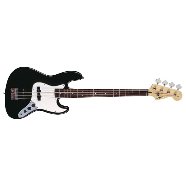 Бас-гитара Fender Squier Affinity Jazz Bass RW Black fender squier bullet with trem rw brown sunburst