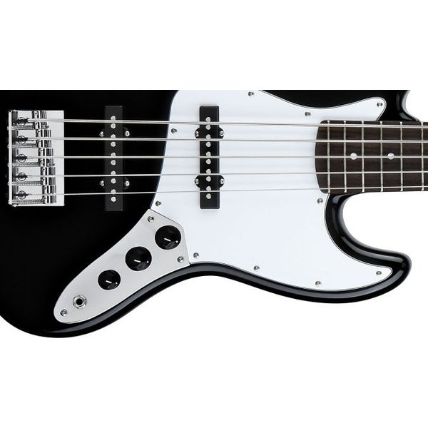 Бас-гитара Fender Squier Affinity Jazz Bass V RW Black цена 2017