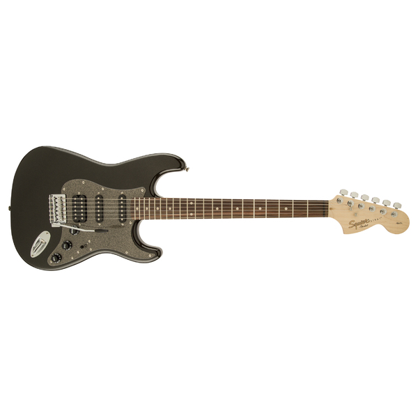 Электрогитара Fender Squier Affinity Stratocaster HSS RW MONTEGO BLACK METALLIC fender fender squier affinity series stratocaster® rosewood fingerboard race red