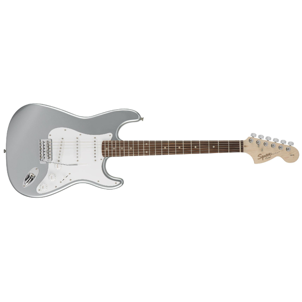 Электрогитара Fender Squier Affinity Stratocaster RW Slick Silver стратокастер fender squier affinity strat race red