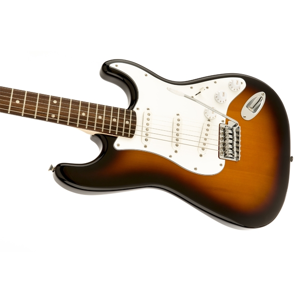 Электрогитара Fender Squier Affinity Stratocaster RW Brown Sunburst электрогитара fender squier affinity telecaster 2 color sunburst
