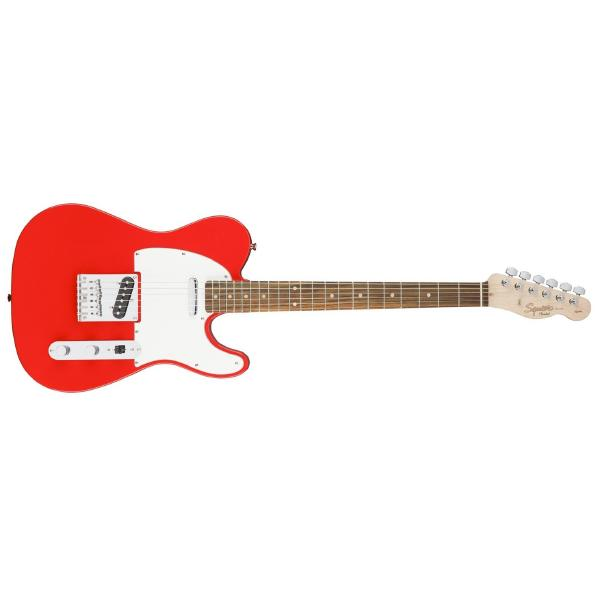 Фото - Электрогитара Fender Squier Affinity Telecaster Race Red value top load 15 6